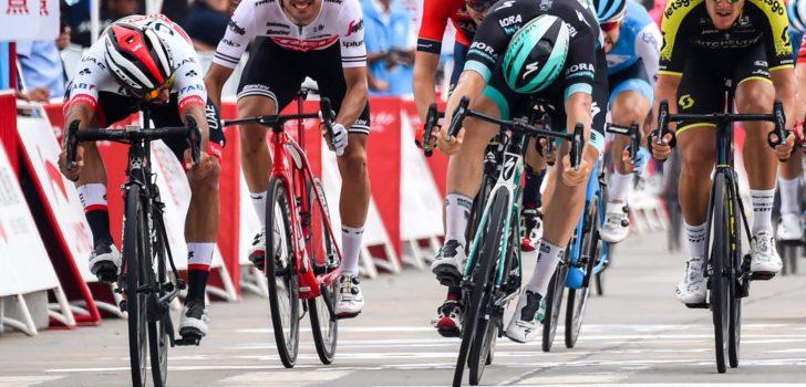 Fernando Gaviria toont zijn snelle benen in opener Tour of Guangxi