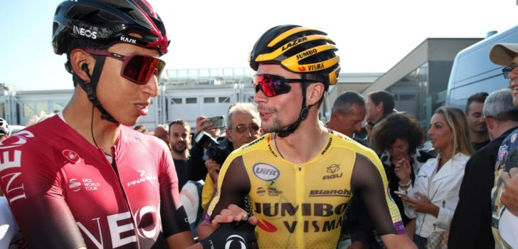 "Bernal: ""Roglic is mijn sterkste concurrent in de Tour"""
