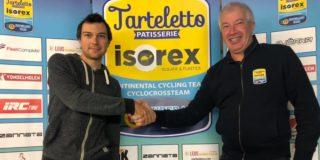 Tarteletto-Isorex haalt Lennert Teugels bij de ploeg