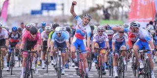 Eerste profzege Lev Gonov in Tour of Fuzhou