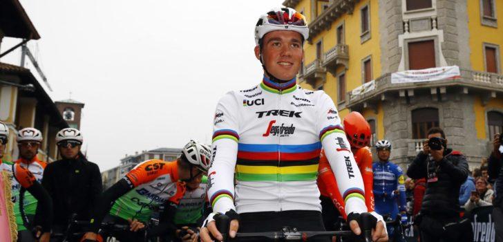 Wereldkampioen Mads Pedersen opent seizoen Down Under