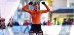 Juniore Puck Pieterse ploetert naar de Europese titel in Silvelle