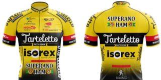 Wielertenues 2020: Tarteletto-Isorexblijft geel-zwart trouw