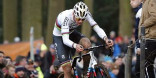 Mathieu van der Poel slaat terug in de Druivencross