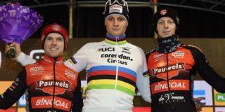"""Mathieu van der Poel: """"Dit was er eentje op karakter"""""""