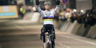 Mathieu van der Poel behoudt ongeslagen status in Diegem