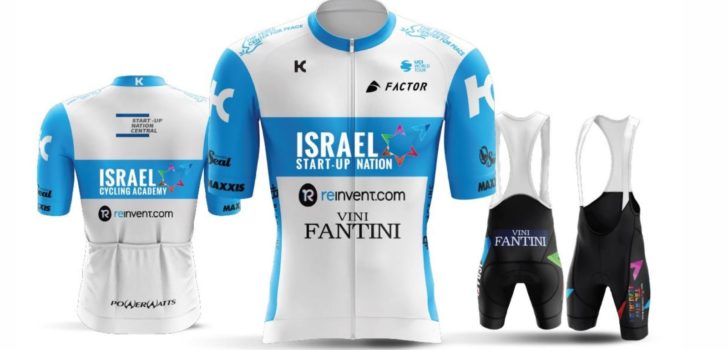 Israel Cycling Academy wordt Israel Start-Up Nation