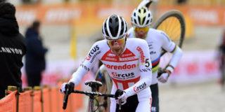 """Mathieu van der Poel gunde David de zege: """"Maar dat had hij niet toegestaan"""""""