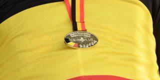 Stijn Siemons pakt de Belgische titel voor elites zonder contract