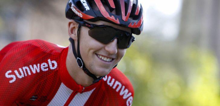 Team Sunweb rekent op Dainese en drie thuisrijders in Tour Down Under