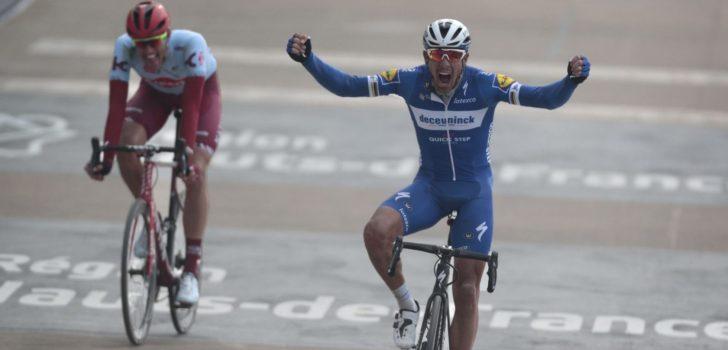 Finale Parijs-Roubaix identiek aan die van vorig jaar