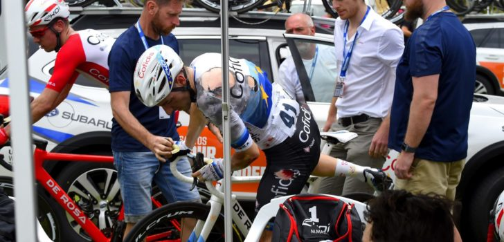 Yates en Viviani flink gehavend na valpartij tweede etappe Tour Down Under