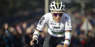"""Sanne Cant derde in Hoogerheide: """"Ik was niet super, dat was ingecalculeerd"""""""