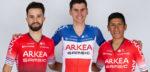 Wielertenues 2020: Arkéa Samsic kiest voor rood