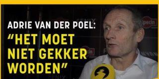 """Adrie van der Poel over hervormingen: """"Niet kapot van, maar moeten het een kans geven"""""""