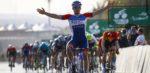 Sprinter Bonifazio verrast met late uitval in Saudi Tour