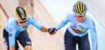 Jolien D'Hoore en Lotte Kopecky vierde op WK Madison