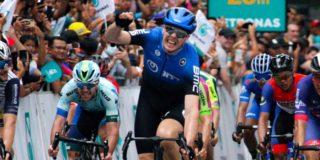 Max Walscheid is nu wel de snelste in Tour de Langkawi
