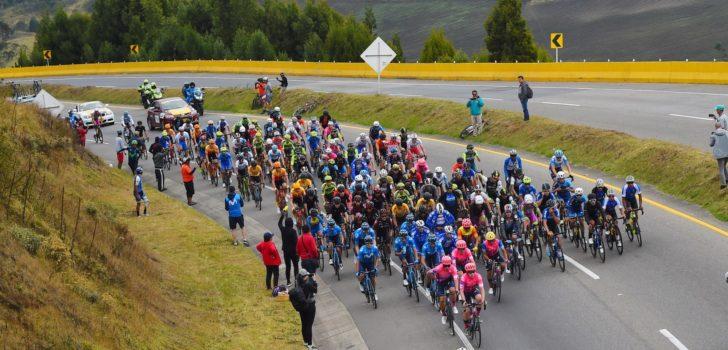 Volg hier de vijfde etappe van de Tour Colombia 2020