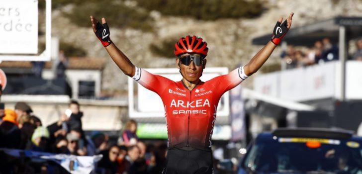 Nairo Quintana domineert op flanken van de Mont Ventoux in Provence