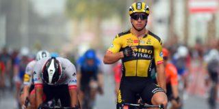 Dylan Groenewegen slaat toe in UAE Tour