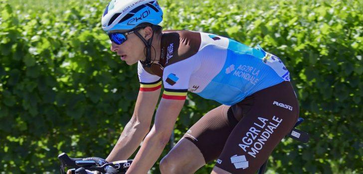 Oliver Naesen voert AG2R La Mondiale aan in Omloop Het Nieuwsblad