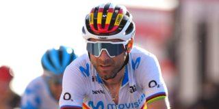 """Alejandro Valverde bekent oorzaak trainingsval: """"Ik wilde een 'Van der Poel' doen"""""""