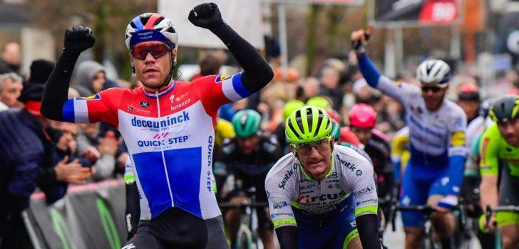 Fabio Jakobsen voert klassement Bingoal Cycling Cup aan