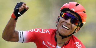 Benoot tweede in Parijs-Nice, Quintana niet te stoppen op slotklim